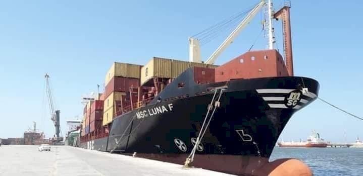 ميناء بنغازي يستقبل سفن محملة بالبضائع من السوق الأوروبي