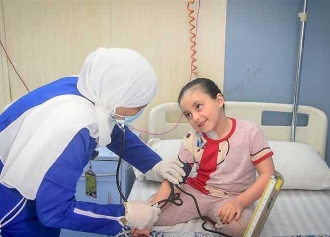 تماثل الطفلة الفلسطينية بيان للشفاء بعد استجابة السيسي لها
