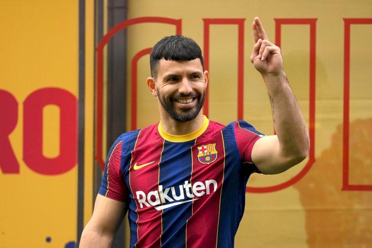 برشلونة يسجل أجويرو ويقنع نجومه بتخفيض الرواتب