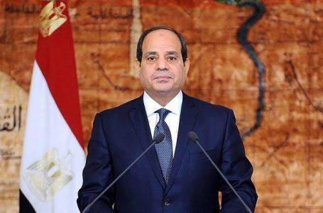 الرئيس السيسي ناعيًا المشير طنطاوي : مصر فقدت اخلص ابناءها وهب حياته لخدمة وطنه